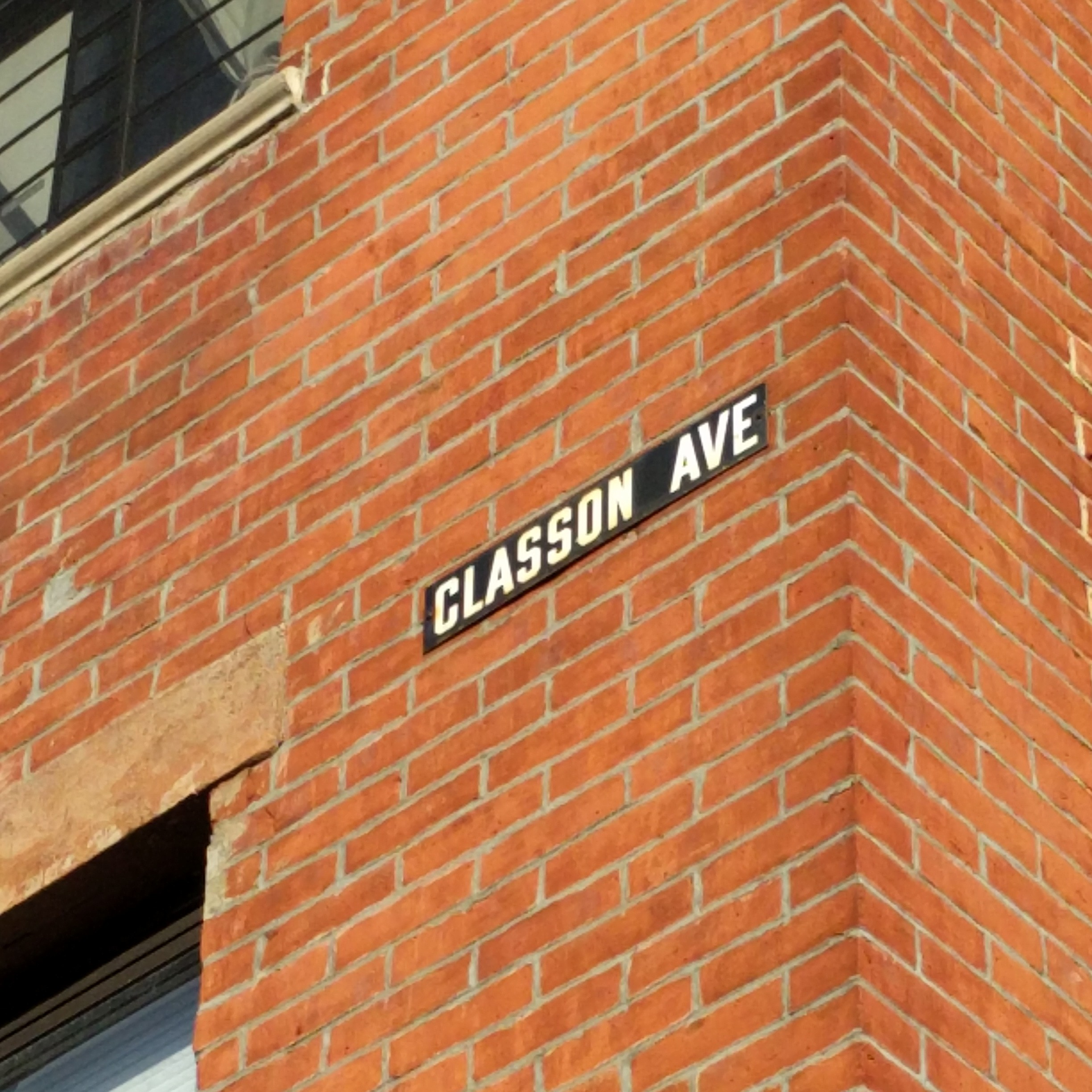 Classon Ave and Greene Ave in Bed Stuy